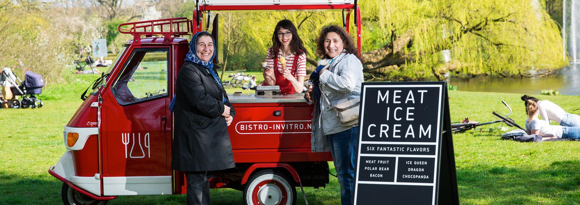 Bistro In Vito Ice Cream Cart