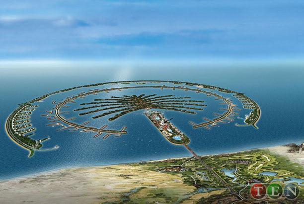 Visual of Artificial Island Dubai