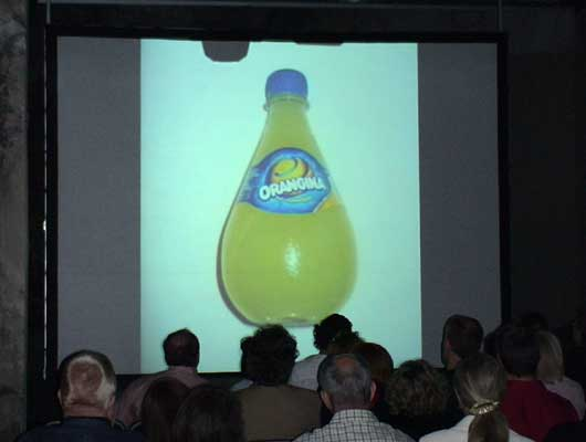 how to grow an orangina bottle