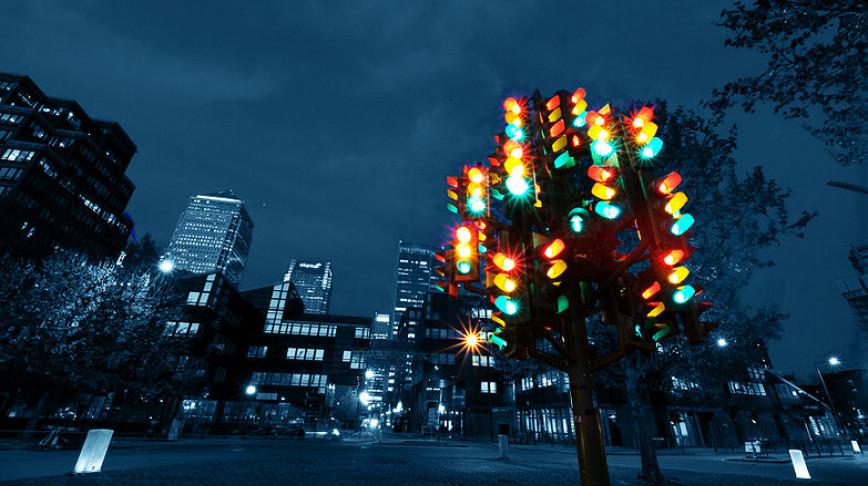 Visual of Tree traffic light