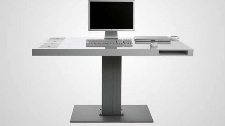 Visual of Apple Desk - Symbol of a digital lifestyle