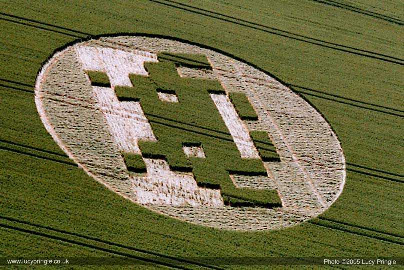 Visual of Crop Circles