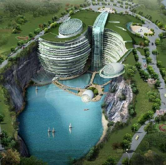 Visual of Waterworld - Old nature meets next nature
