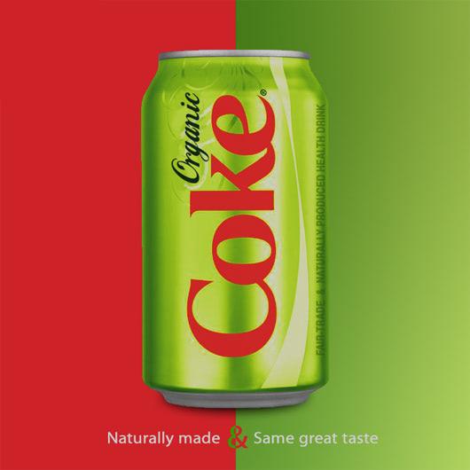 Visual of Organic Coca-Cola