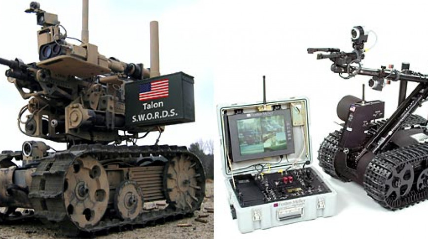 Visual of Killer Robots