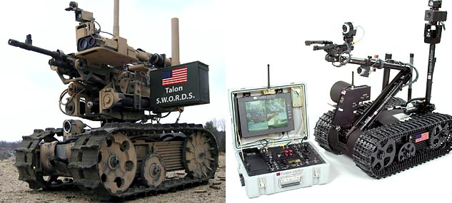 Visual of Killer Robots