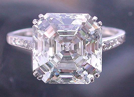 Visual of Simulated Diamonds
