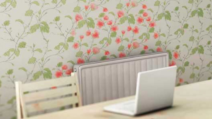 Visual of Wallpaper Blooms When the Heat is On