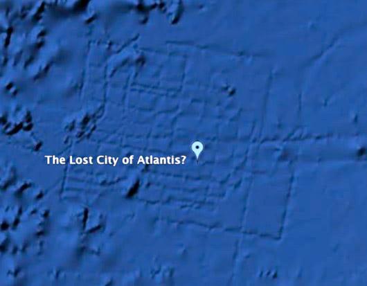 Visual of 'Atlantis' Turns out to be Interfacial Artefact