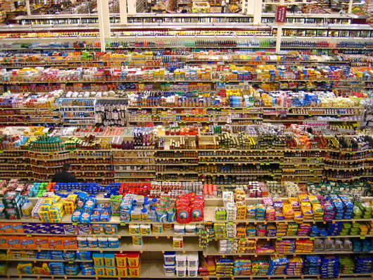 Visual of Biodiversity in the Supermarket