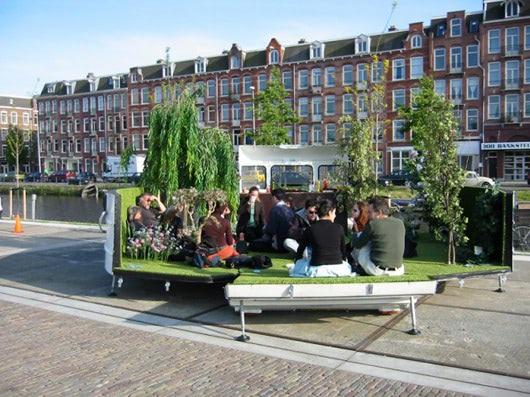 Visual of Caravan Garden