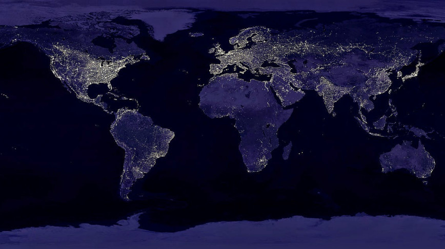 Visual of Economy, as Seen From Space