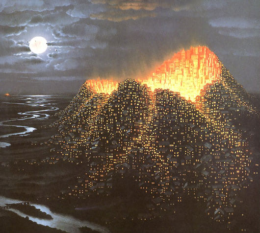Visual of Eruption