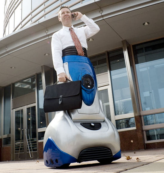 Visual of Exmovere Chariot: the wearable wheelchair