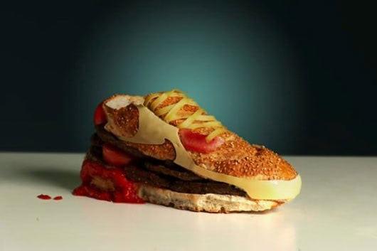 Visual of Hamburger sneaker