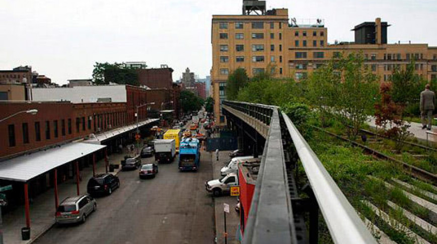 Visual of High Line Park