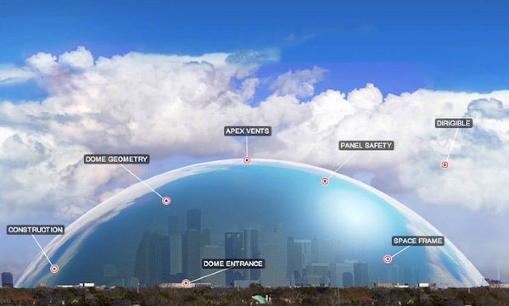 Visual of Houston, We've Got a Dome!