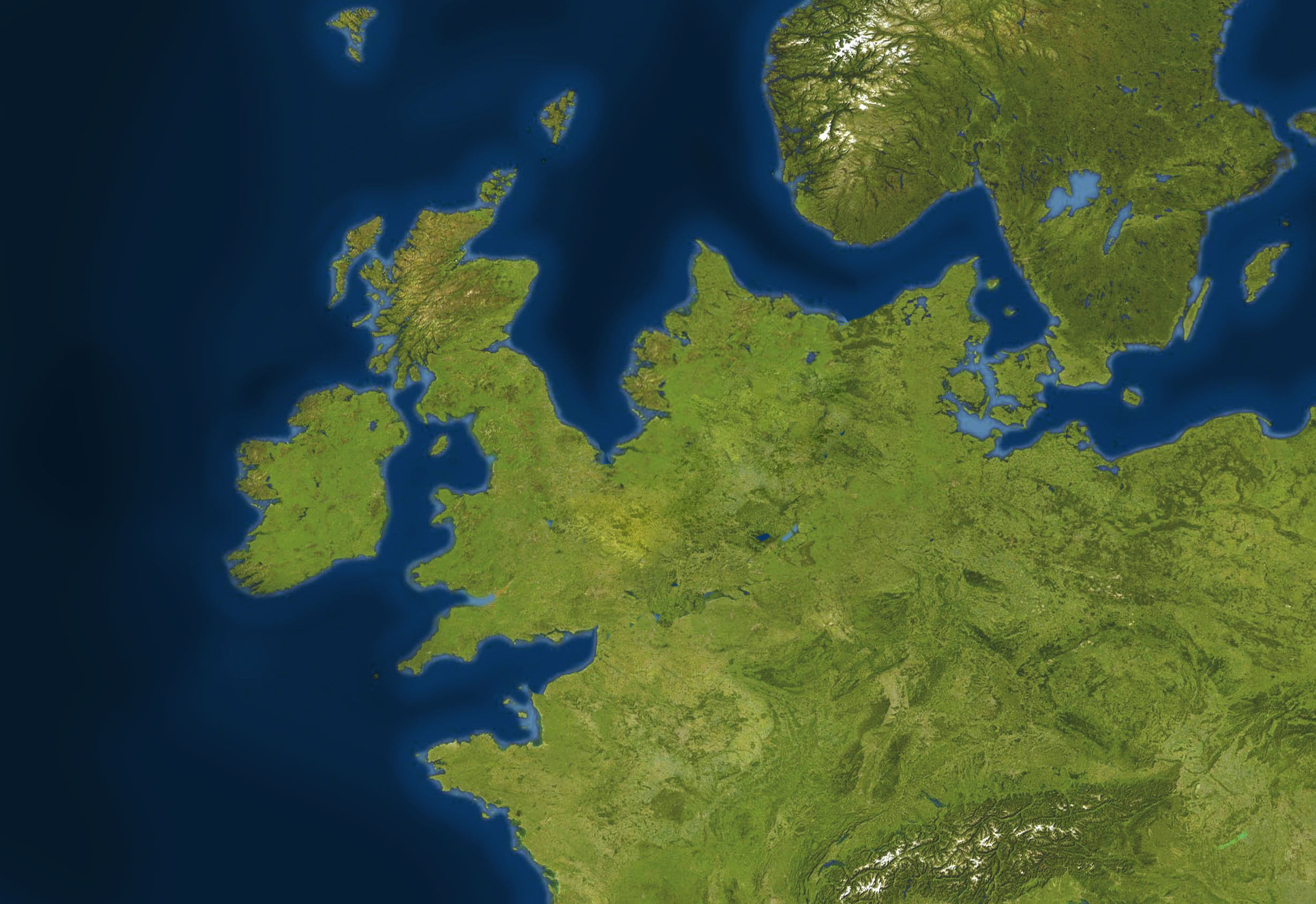 NNN / Doggerland – Mapping a Lost World