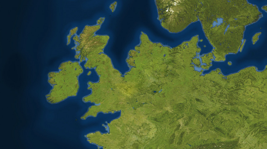 Visual of Doggerland – Mapping a Lost World