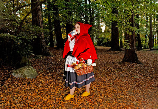 Visual of Not so Little Red Ridinghood