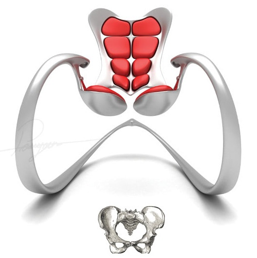 Visual of Pelvis Rocking Chair