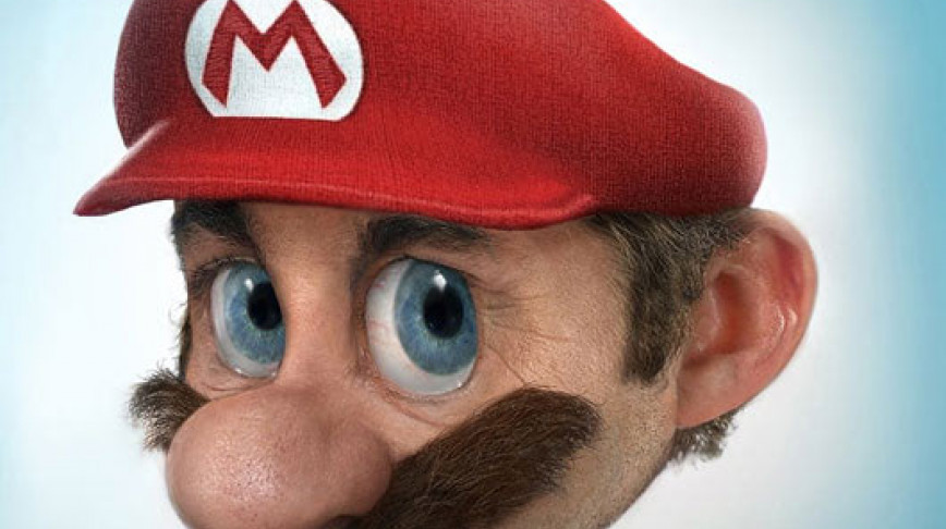 Visual of Real Mario (closeup)