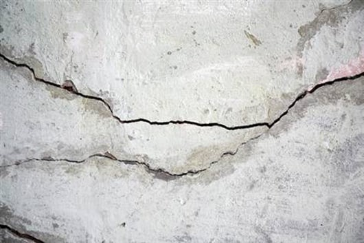 Visual of Engineered Bacteria heal Cracks in Walls