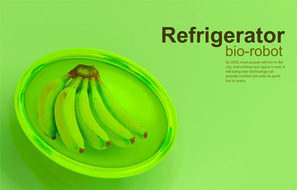 Visual of Keep it cool with the Bio-Robot Fridge