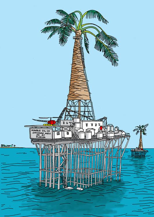 Visual of Palmtree Drilling Platform