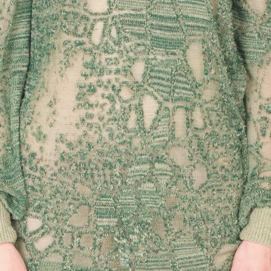 Visual of Traces of Everyday Embedded in Textile