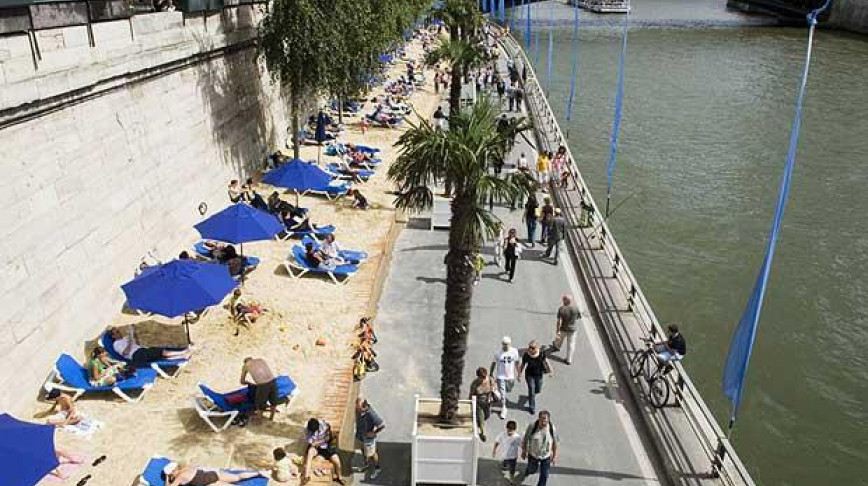 Visual of Under the Beach Lies the Pavement