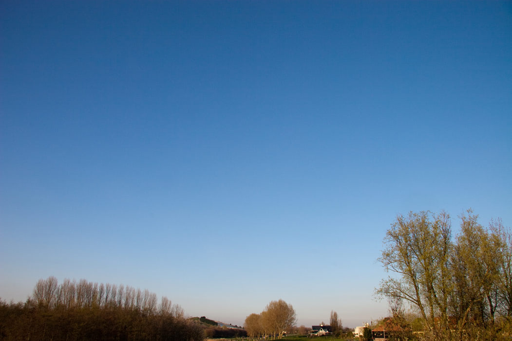 Visual of A Clear Sky