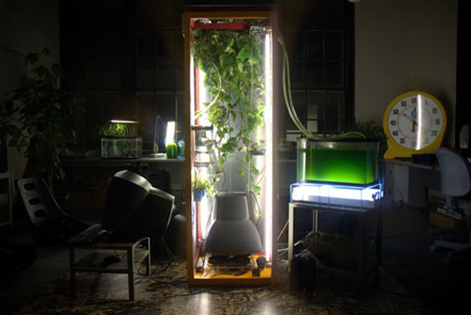 Visual of Biomodd at work