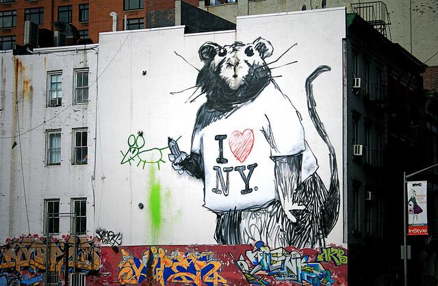 Visual of City Rats Love Ethnic Food