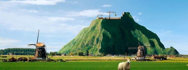 Visual of Holland Gets an Unnatural High
