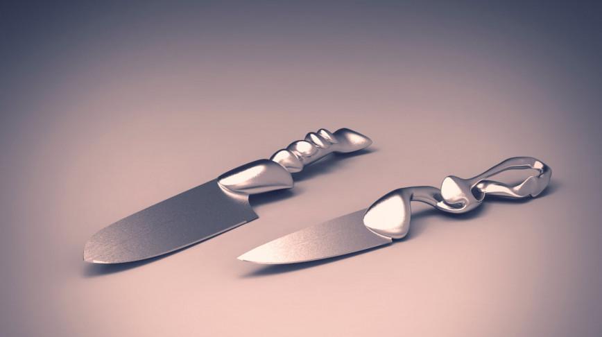 Visual of Morphing Cutlery