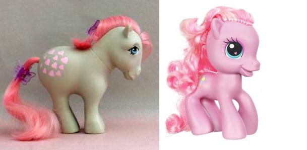Visual of My Fetal Pony:  Neoteny in Girls' Toys