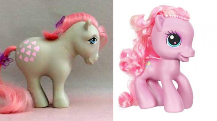 Visual of My Fetal Pony:  Neoteny in Girls' Toys