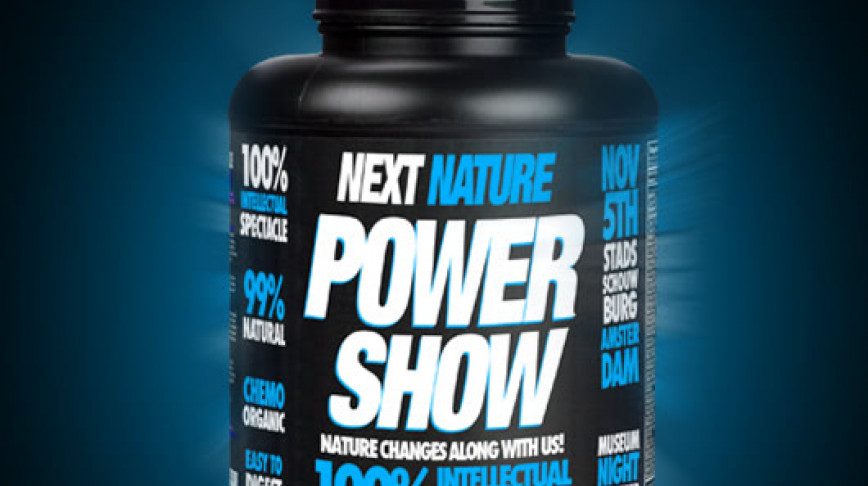 Visual of Next Nature Power Show 2011 Amsterdam