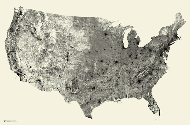 Visual of Street View of the United States