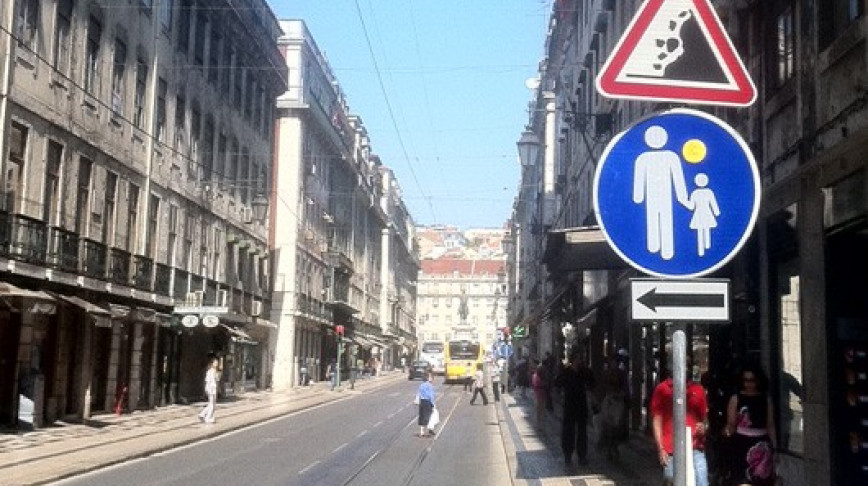 Visual of Traffic Sign Comic