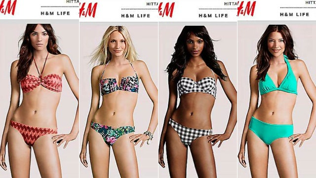 Visual of Who Needs Real Humans? Not H&M
