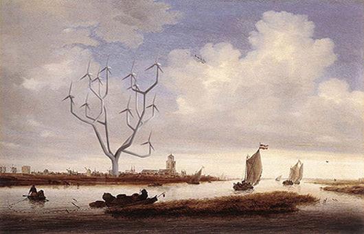 Visual of Windmill Trees