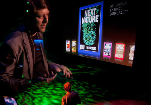 Visual of Lecture on Next Nature book