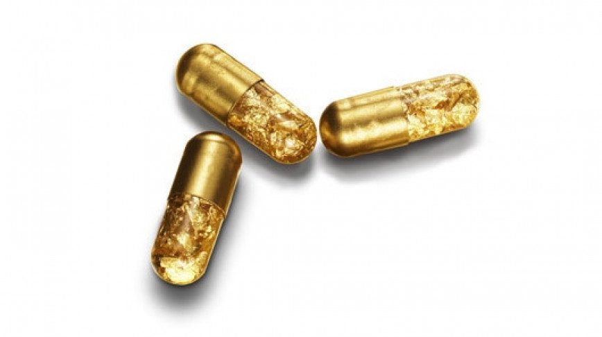 Visual of A Pill for Golden Poop