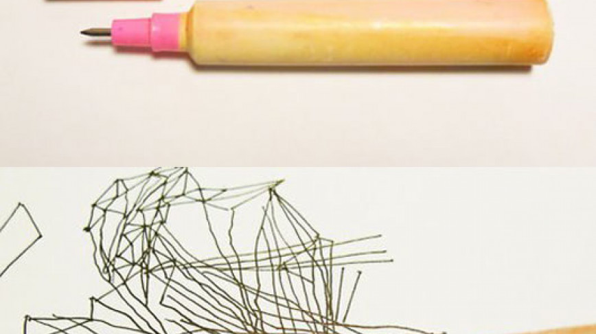 Visual of A Second Life for Rescued Plastic Pens