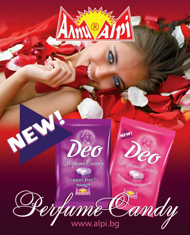Visual of Edible Deodorant Candy