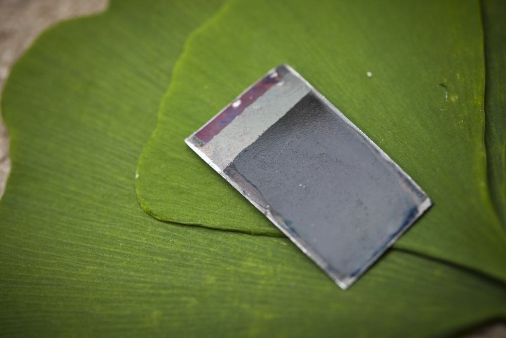 Visual of Fake Leaf is Twice as Efficient as the Real Thing
