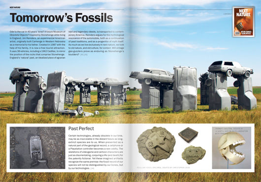 Visual of Featured Page #03: Tomorrow's Fossils