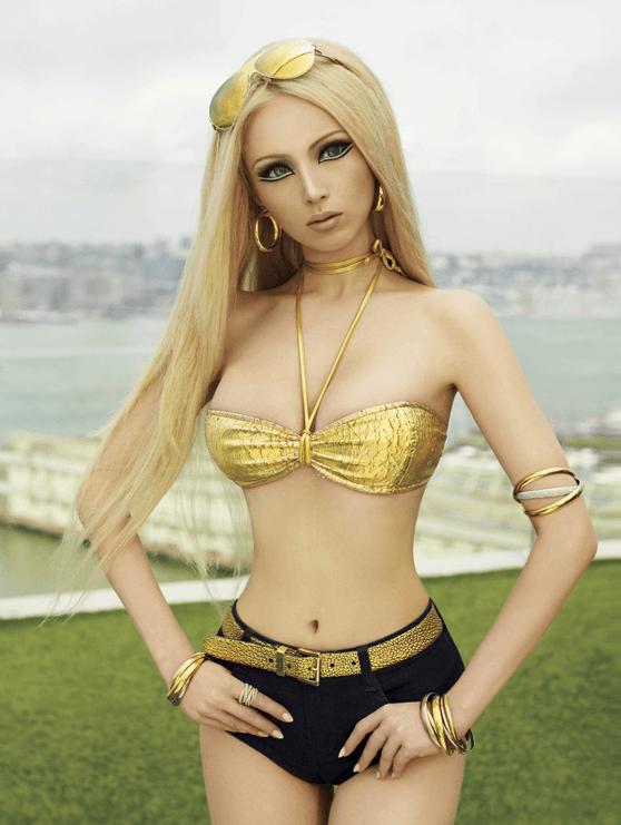 Visual of Human Barbie